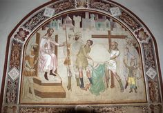 Bartolo di Fredi - Storie di San Nicola di Bari -  affresco - 1350-1375 - Chiesa di San Lucchese, Poggibonsi