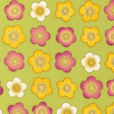 I like how these are kind of stylised - maybe you could make a sponge stamp this shape and Alice could paint them on herself with it? ETJM-12124-195 from Satsuki: Robert Kaufman Fabric Company