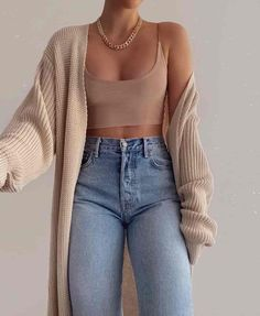 Basic Outfits, Winter Fashion Outfits, Simple Outfits, Look Fashion, Fall Outfits, Summer Outfits, 70s Fashion, Fashion 2020, Korean Fashion