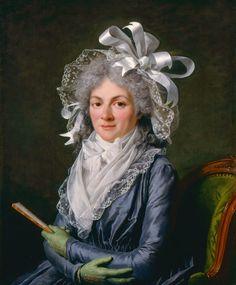Adelaide Labille-Guiard - Madame de Genlis, 1790