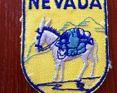Nevada Vintage Travel Patch