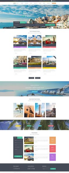 20 Best Travel Agency Website images in 2018 | Web design
