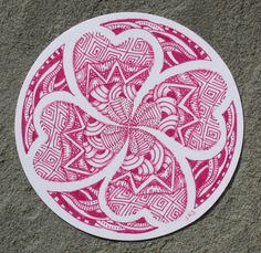 Sue's tangle trips: Zentangle and Decorative Painting - my story