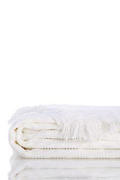 Moare Bed Throw - White on @HauteLook