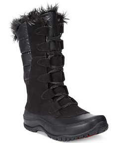 b8101089fb The North Face Women's Nuptse Purna Faux-Fur Boots Shoes - Boots - Macy's