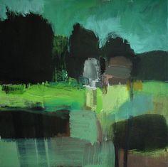 ☼ Painterly Landscape Escape ☼ landscape painting by Olivier Rouault - Paysage