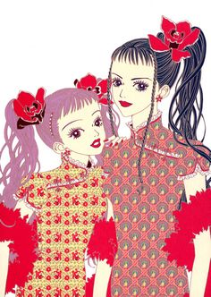 "Ai Yazawa - ""Paradise Kiss"" this show taught me nearly everything I know about fashion (which isn't much)"