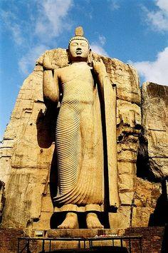 Aukana Buddha, Sri Lanka   - http://sculpturesworldwide.tk/aukana-buddha-sri-lanka.html