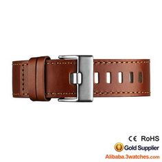Natural Genuine leather Watches Strap 3W-S-L16, click picture to designs your own brand watch.