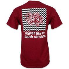 South Carolina Gamecocks Ladies' Chevron T-Shirt #gamecocks