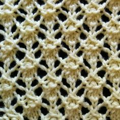 Intricate Lattice Stitch - Purl Avenue