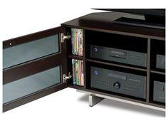 BDI Avion Series II 8925 Home Theatre TV Cabinet in Espresso Oak