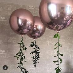 Round Rose Gold Balloon/ 16 Sphere Rose Gold Balloons/ | Etsy