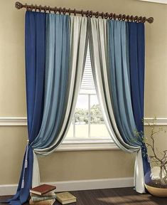 Creative And Beautiful Curtains Ideas - Engineering Discoveries Home Curtains, Modern Curtains, Sheer Curtains, Insulated Curtains, Beautiful Curtains, Curtain Designs, My Room, Your Space, Window Treatments