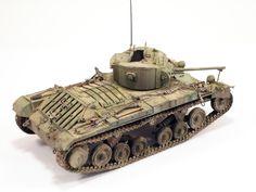 35092 VALENTINE Mk IV RED ARMY w/CREW Modeller José Brito (Portugal)