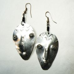 Mask Earrings now featured on Fab.