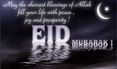 Eid is celebrated throughout the world by Muslims, but what is it? Is Eid similiar to Christmas? Why do Muslims celebrate Eid twice a year? What does Eid mean? Eid is an Islamic holiday for Muslims Best Eid Mubarak Wishes, Eid Mubarak Wünsche, Eid Mubarak Photo, Happy Eid Mubarak Wishes, Eid Mubarak Status, Eid Mubarak Messages, Jumma Mubarak, Eid Ul Fitr Quotes, Eid Mubarak Quotes