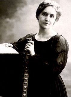 Sibilla Aleramo - Italian author. She was a feminist best known for her autobiographical depictions of life as a woman in late 19th century Italy.
