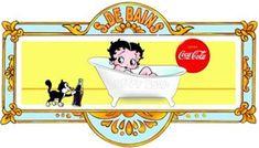 bettie page coca cola