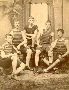 Vintage Team Photo 1889