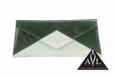 You are Posh Green Clutch