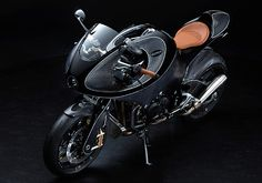 'Gentleman's Racer' – VanderHeide Motorcycles. When carbon fibre comes up in a motorcycle spec sheet, it's usually in the accessories section where you can expect to pay an exorbitant amount of money for a pair of carbon fibre mirrors or number plate stays that save just a fraction of a kilogram. But the Dutch built VanderHeide bike is a different animal altogether; this is...