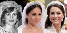 Meghan Markle's Wedding Tiara Looks So Different Than Kate and Diana's