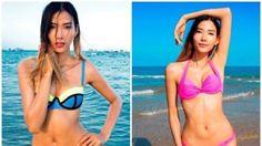 (Người đẹp) - Trong những ngày hè 2015, các sao Việt đã thi nhau diện bikini với các màu sắc nổi bật làm mùa hè thêm tăng nhiệt hơn.