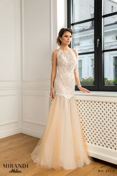 Transparent dress with top decorated with pearl and sequins, hand-sewn. Transparent Dress, Hand Sewn, Formal Dresses, Wedding Dresses, New Trends, Manual, Sequins, Pearl, Collection