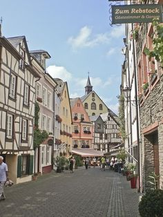 Bernkastel-Kues (on Mosel River in Germany)