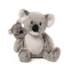 Item Number: 4054183 Material: Polyester Blend Dimensions: 11 in H x 7 in W x 7 in L GUND knows there's nothing like the bond between parent and child. This adorable Koala and baby playset includes an