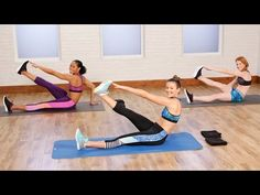 10-Minute Flat Belly Workout to Tighten and Tone | Class FitSugar - YouTube