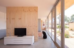 Erpingham House, Fremantle by MSG Architects | Australian Design Review | Photo by Joe Madding  #Interior #Design #Architecture #Timber #Ply #Home