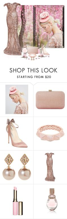 """Giving thanks"" by whiteflower7 ❤ liked on Polyvore featuring ASOS, Dune, Brian Atwood, Matara, Ivanka Trump, Clarins and GUESS"