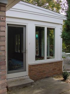 Sunroom after photo with Andersen Windows