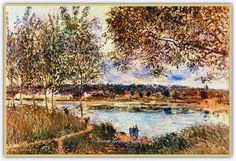Alfred Sisley (1839 - 1899) | Fransız Ressam - Forum Gerçek