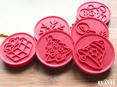 vykrajovatka-na-susenky Cookie Stamp, Food Art, Food And Drink, Camping, Cookies, Christmas, Piping Tips, Cookie Cutters, Stamps
