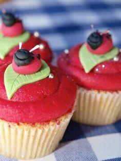 Gaston cupcakes