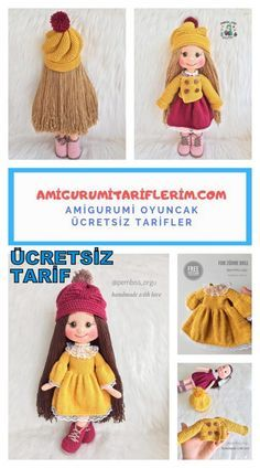 Amigurumi Zühre Bebek Yapımı – Amigurumi Tariflerim Try out this awesome cowl to keep your neck cozy! Get knitting! 5 knitting mistakes, and how to fix them Crochet Bra, Crochet Gifts, Crochet Dolls, Easy Crochet, Crochet Clothes, Free Crochet, Knitting Projects, Crochet Projects, Knitting Patterns