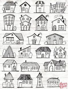 Doodle Haus Clipart Haus Vektor Kunst Haus Haus Stadt Stadt Haus PNG Dwelling Vector Obtain Haus Illustrationen 101 Doodle Drawings, Easy Drawings, Haus Vektor, House Illustration, Vintage Illustration, Character Illustration, Digital Illustration, Koala Illustration, Clip Art