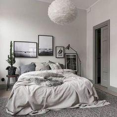 Inspired Scandinavian Master Bedroom Decoration (16)