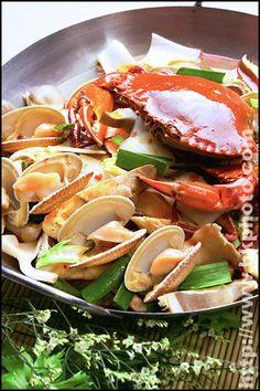 Luscious seafood