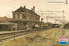 Stationsstraat Weesp (jaartal: 1960 tot 1970) - Foto's SERC