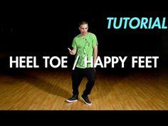 How to do the Heel Toe / Happy Feet (Hip Hop Dance Moves Tutorial) | Mihran Kirakosian - YouTube