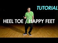 How to do the Heel Toe / Happy Feet (Hip Hop Dance Moves Tutorial)   Mihran Kirakosian - YouTube