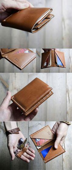 Tan Leather Waller