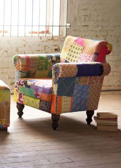 Take an armchair journey to India! Inspired by the kaleidoscopic jewel tones of the subcontinent...