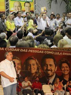 Roberto Cláudio apresentou programa na quinta-feira;  Ministro da Saúde no lançamento do programa de Elmano