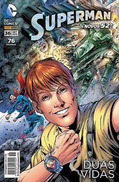 LIGA HQ - COMIC SHOP SUPERMAN (REB) #36 - DC Comics PARA OS NOSSOS HERÓIS NÃO HÁ DISTÂNCIA!!!