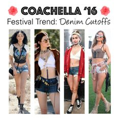 """Coachella Fashion: Denim Cutoffs"" by polyvore-editorial ❤ liked on Polyvore featuring Accessorize, coachella and fashiontrend"